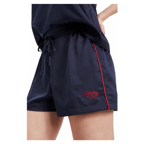 Tommy Hilfiger tmavě modré pyžamové kraťasy Short
