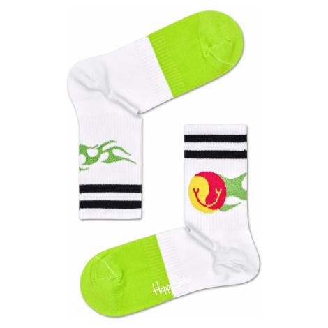 Athletic Flame 3/4 Crew Sock Happy Socks
