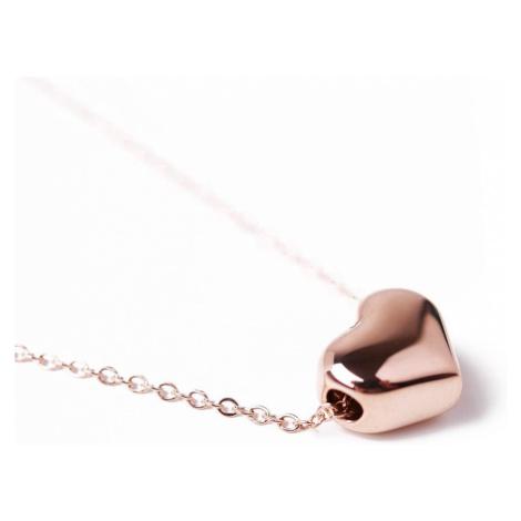 Vuch náhrdelník Deep Love Rose Gold