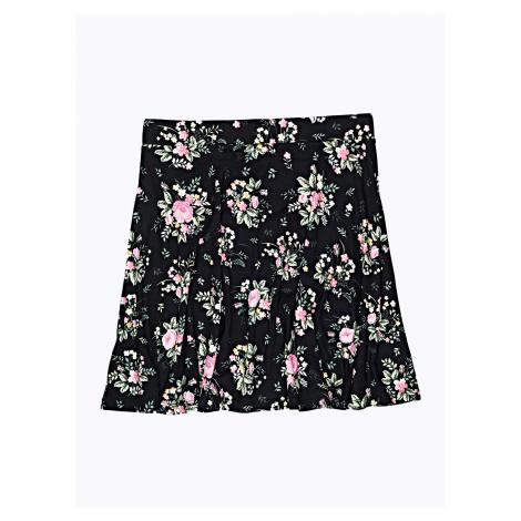 GATE Áčková sukně s květinovým potiskem