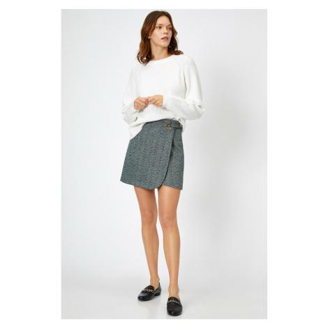Koton Bird Eye Detail Skirt