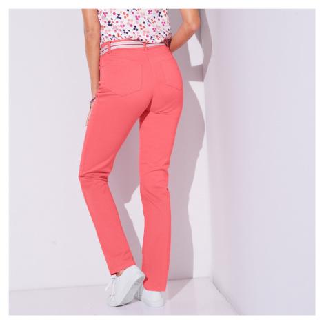 Blancheporte Zeštíhlující kalhoty korálová
