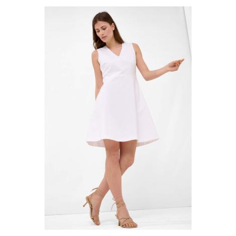 Šaty s áčkovou sukní Orsay