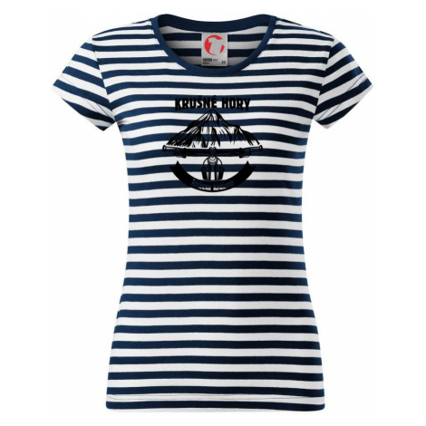 Krušné hory křížem krážem - Sailor dámské triko