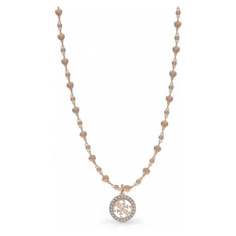 Guess dámský zlatorůžový náhrdelník