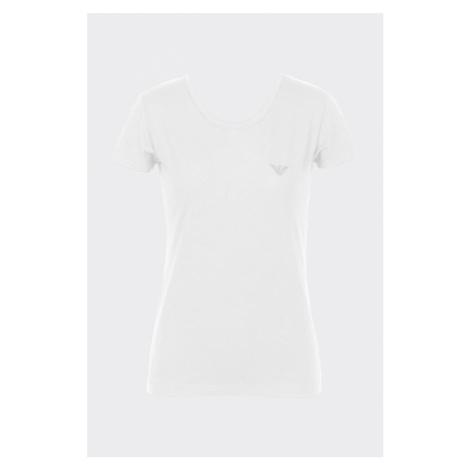 Emporio Armani Underwear Emporio Armani dámské tričko Iconic Cotton - bílé