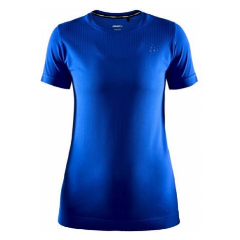 Dámské tričko CRAFT Fuseknit Light SS modrá