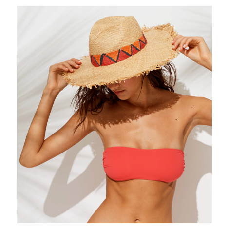 Slaměný plážový klobouk TR483 - Noidinotte uni