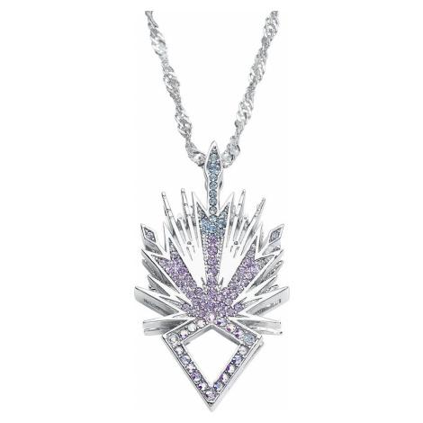 Frozen Disney by Couture Kingdom - Elsa Ice Crystal Náhrdelník - řetízek stríbrná
