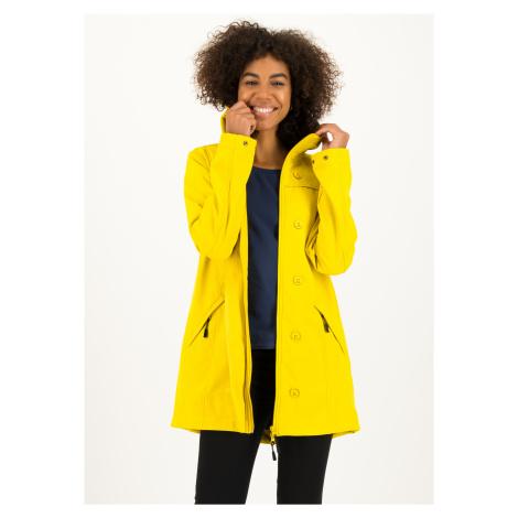 Softshell funkční kabát žlutý Blutsgeschwister