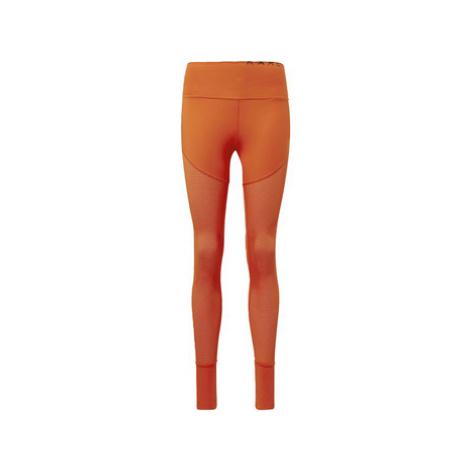 Adidas Legíny Karlie Kloss Mesh High-Waist Long Oranžová