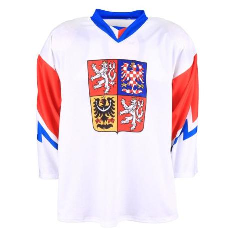 Hokejový dres Česko - bílý Bílá / Červená