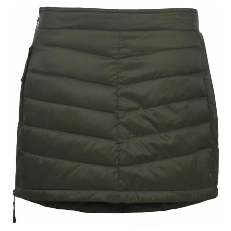 Prošívaná zimní péřová sukně SKHOOP Down Mini, olive