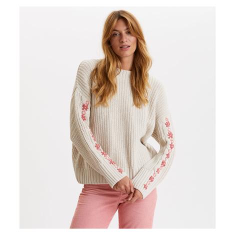 Svetr Odd Molly Oh Wow Sweater - Hnědá
