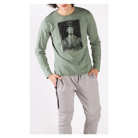 Pánské tričko s potiskem Pepe Jeans PM505977 PALATINO