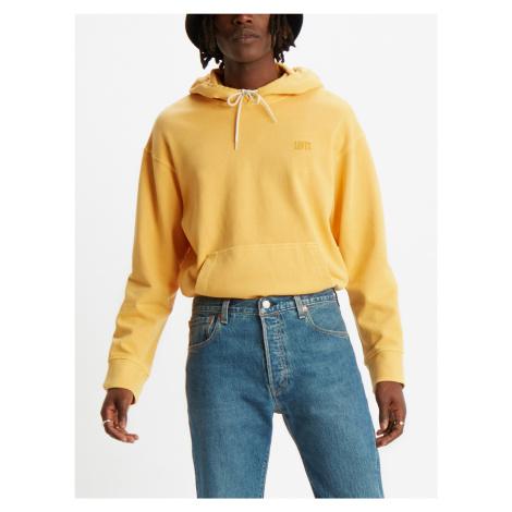 Mikina LEVI'S Authentic Po Hoodie Authentic Pullover Žlutá Levi´s