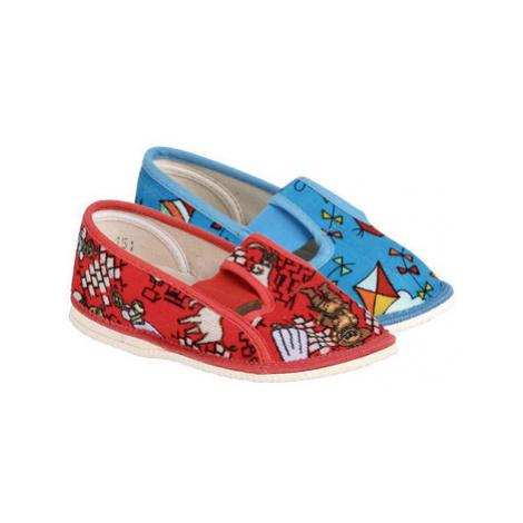 Arno 555-2 barevné dívčí papučky Other