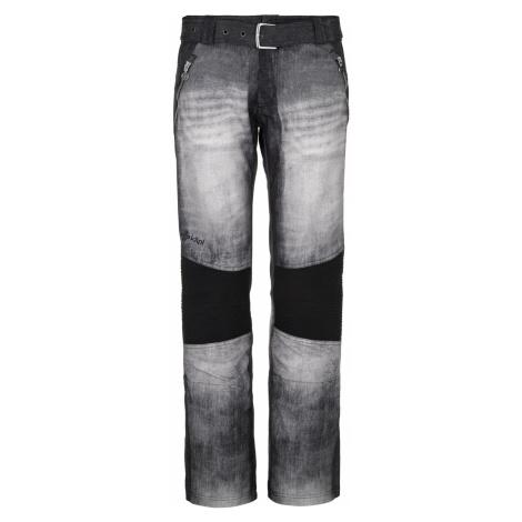 KILPI Dámské lyžařské kalhoty - větší velikosti JEANSO-W NLX079KIBLK Černá
