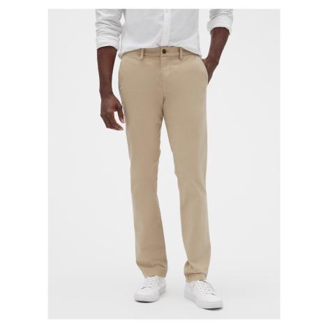 GAP béžové pánské kalhoty slim fit