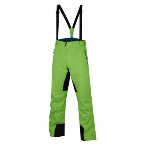 Pánské lyžařské kalhoty Alpine Pro MER DE GLACE - zelená