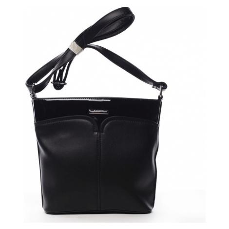Dámská crossbody kabelka Silvia Rosa Sylvian, černá