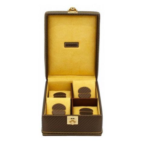 FRIEDRICH LEDERWAREN CARBON 32049-8, Kazeta na hodinky