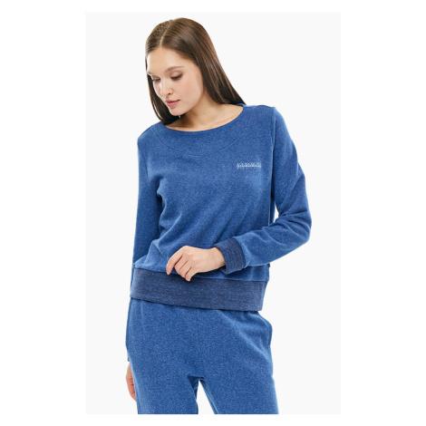 Napapijri NAPAPIJRI dámská fleece královsky modrá mikina