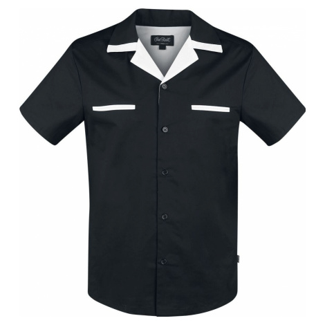 Chet Rock Bowlingová košile Donnie Košile černá