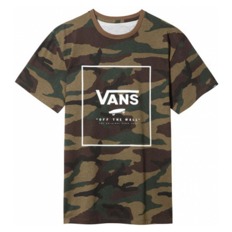 Vans Mn Print Box Ss Camo/White Multicolor VN0A312SC9H