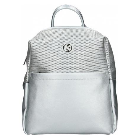 Dámský batoh Marina Galanti Quinta - stříbrná