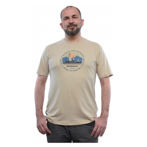 Pánské tričko BUSHMAN ICE béžová