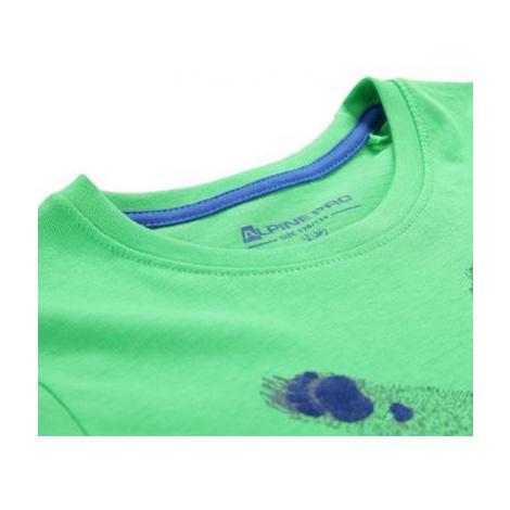 Dětské triko Alpine Pro IVARO 2 - zelená