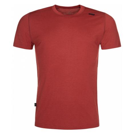 Pánské funkční tričko KILPI MERIN-M tmavě červená