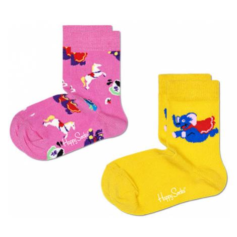 2-pack Kids Fun Fair Sock Happy Socks