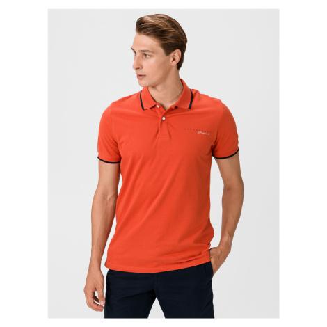 Logan Polo triko Jack & Jones Oranžová