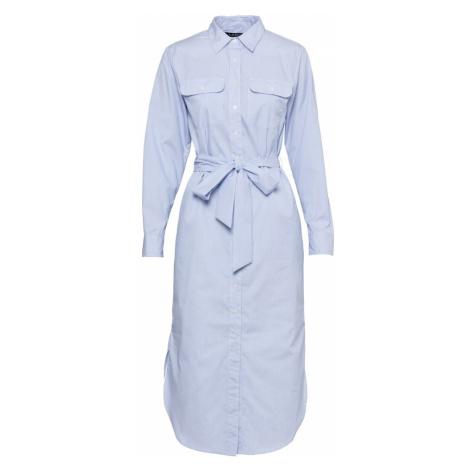 Lauren Ralph Lauren Košilové šaty světlemodrá