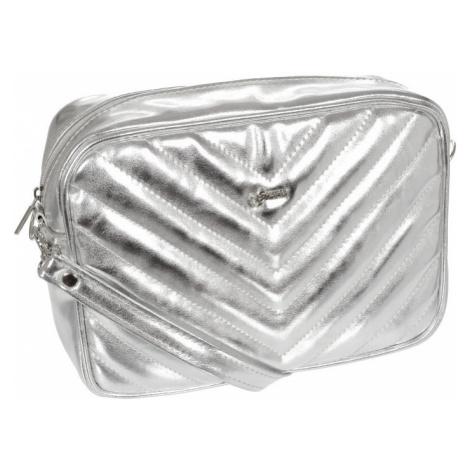 Stříbrná dámská crossbody kabelka M288 GROSSO