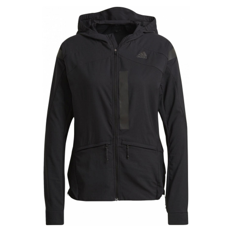 Dámská běžecká bunda adidas MARATHON TRANSLUCENT Černá