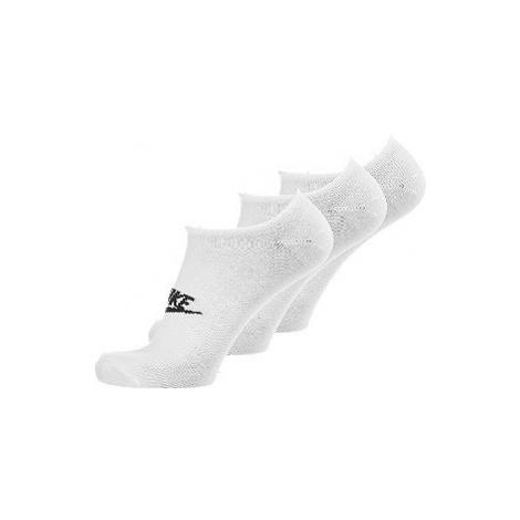 Bílé ponožky Nike_ 3 páry