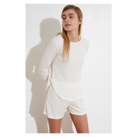 Women's pyjamas set Trendyol Knitted