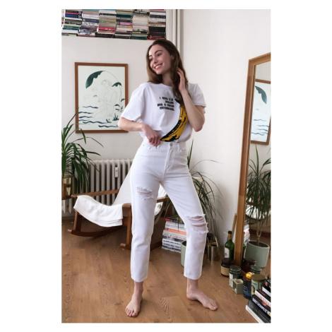 Dámské džíny Trendyol Mom jeans