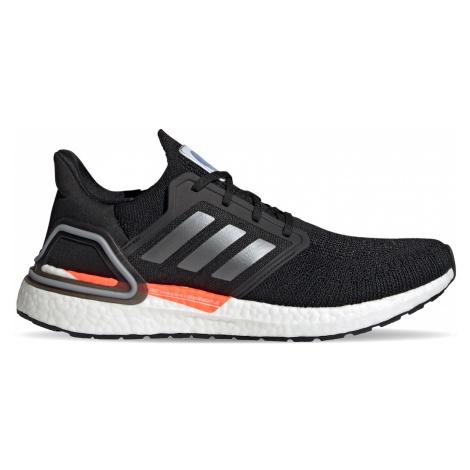 Adidas Ultraboost 20 Core Black/Iron Met./Football Blue černé FX7979