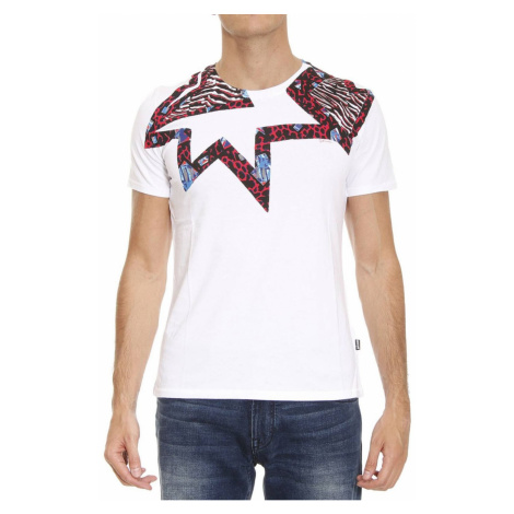JUST CAVALLI Logo White tričko