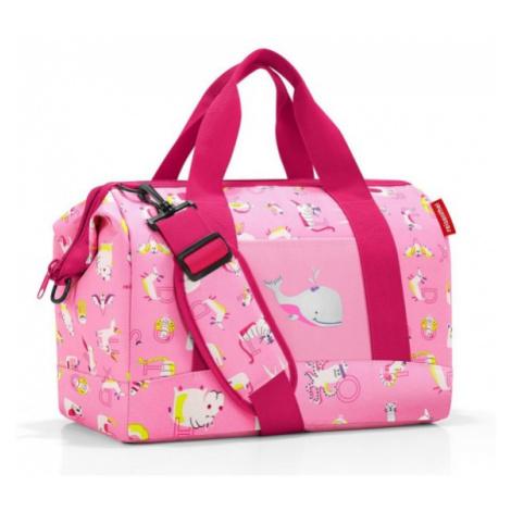 Cestovní taška Reisenthel Allrounder M kids Abc friends pink