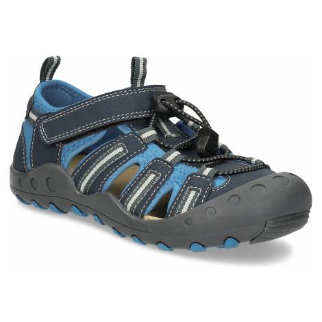 Dětské modré sandály Baťa