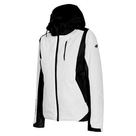 4F H4Z20-KUDN009 Dámská lyžařská bunda WHITE