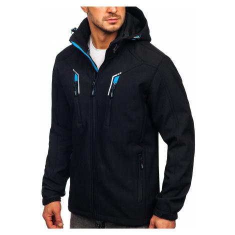 Černá pánská softshellová bunda Bolf WX010 FREESTEP