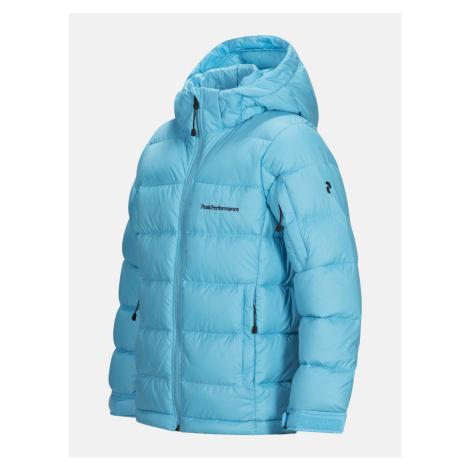 Bunda Peak Performance Jrfrostdj Outerwear - Modrá