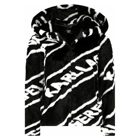 Kožešinová bunda - KARL LAGERFELD