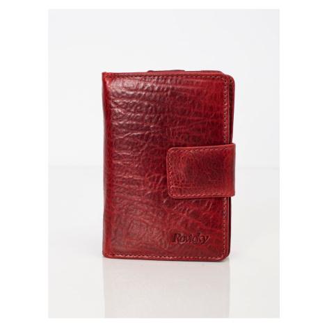 Genuine burgundy leather wallet Fashionhunters
